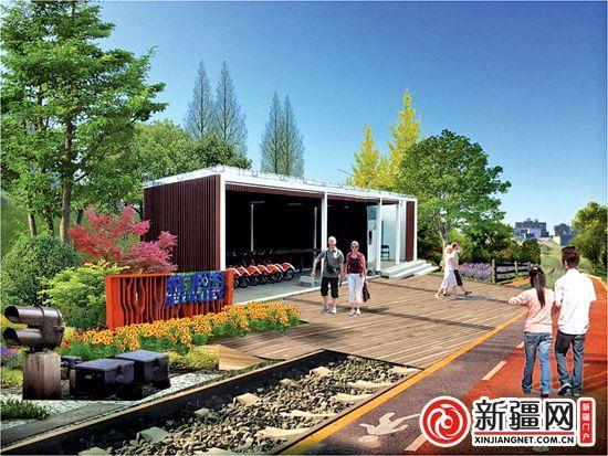 废弃铁路改建休闲慢步道建设工程