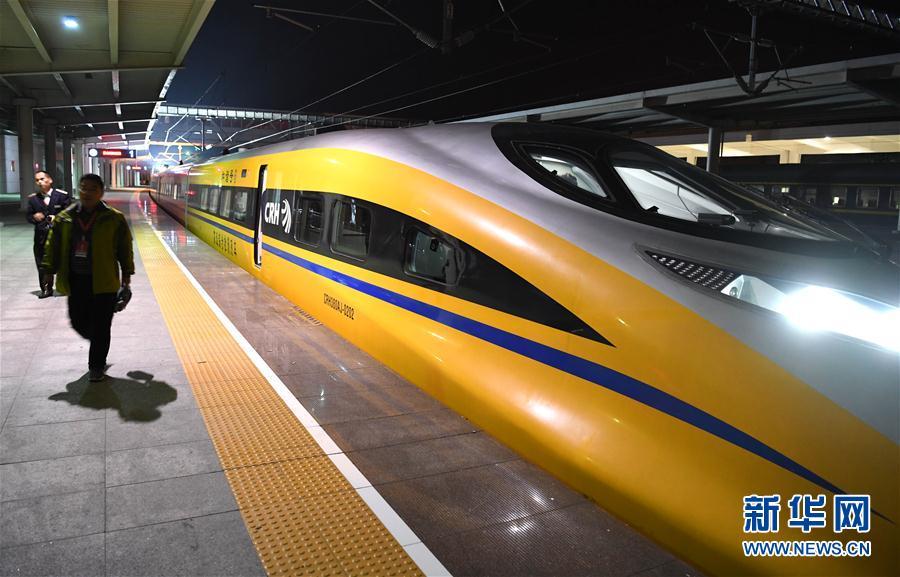 淮北至萧县北客车联络线进入联调联试阶段高清图片