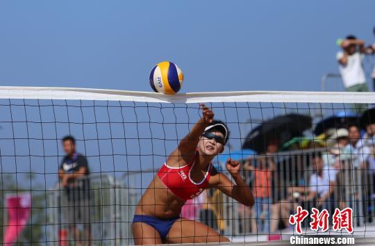 王凡 夏欣怡无缘世界沙滩排球巡回赛钦州公开赛决赛