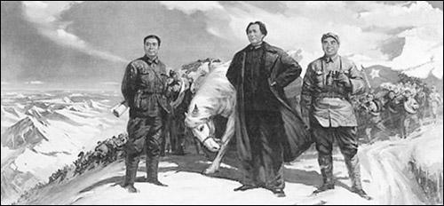中央红军万里长征,攻坚克难摧强敌,毛主席运筹帷幄兵临川陕谋大计