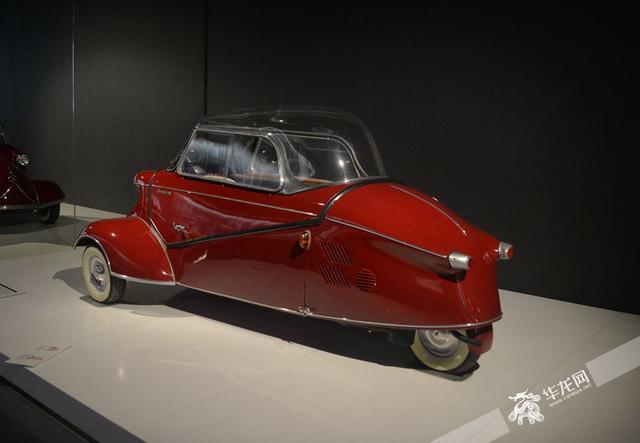 参观上海汽车博物馆 历史中寻找进化密码