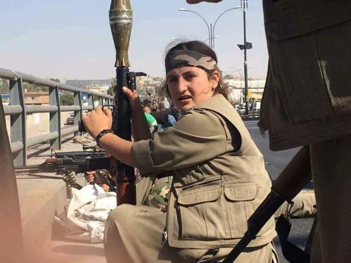 伊拉克军队3小时打垮库尔德武装:女兵最悲壮(图)
