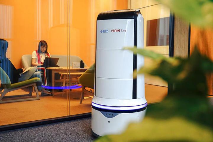机器人取代人送外卖 听听饿了么怎么说