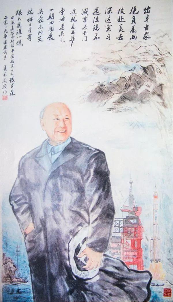 71岁开始学画 84岁老教授专画袁隆平等心中偶像