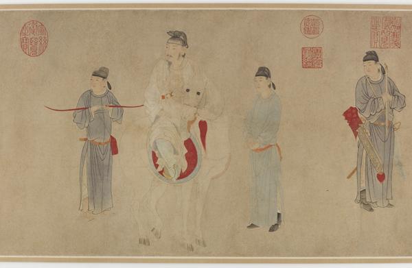 佛利尔美术馆的59幅中国人物画与中国人物画小史