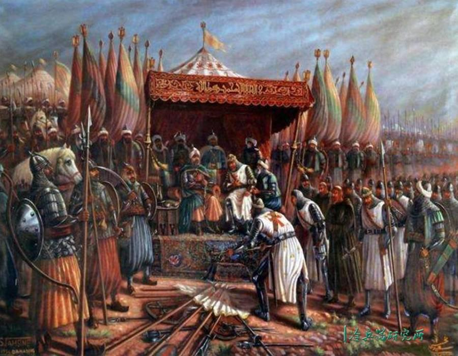因为缺水而惨遭一边倒的屠杀?欧洲十字军自寻死路的哈丁战役