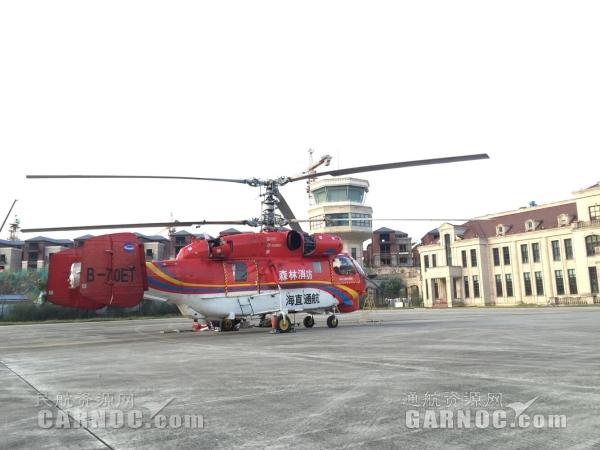 竹岐直升机场进入飞行繁忙季 将迎多家单位入驻