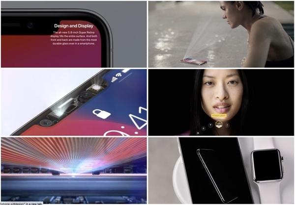 火力全开!苹果官网主页全换为iPhone X版面:心疼iP8