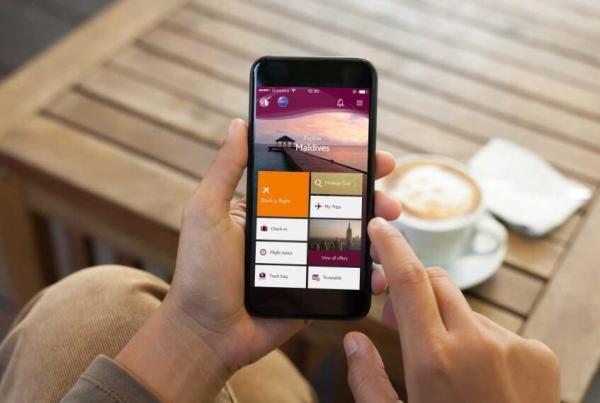 卡塔尔航空公司升级移动应用端