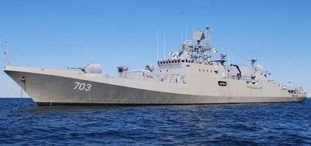 乌克兰让俄军最佳护卫舰下马,继任者仅八百吨,性能强大到不像话