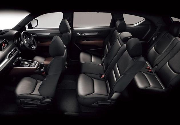 马自达全新CX-8官图发布 定位于7座SUV