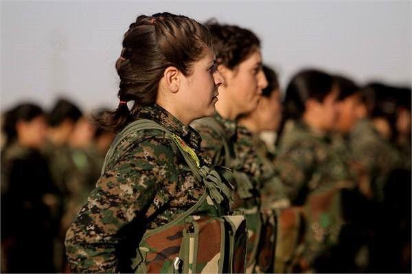 曾被IS掠去做性奴,如今雅兹迪娘子军上阵复仇:一个不留赶尽杀绝