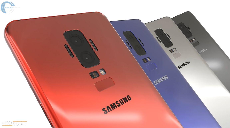 最新的三星galaxy s9概念手机:模块化设计