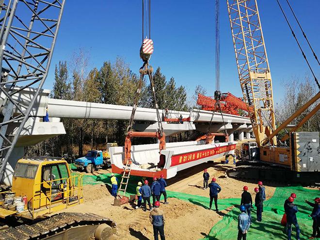 青岛轨道交通13号线全桥贯通 预计明年建成通车