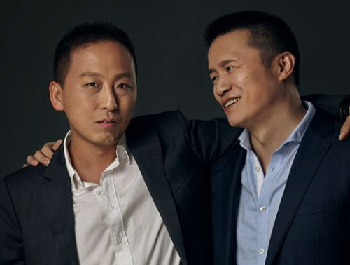 小猪短租联合开创人兼CEO陈驰与小猪短租联合开创人兼COO王连涛_副本