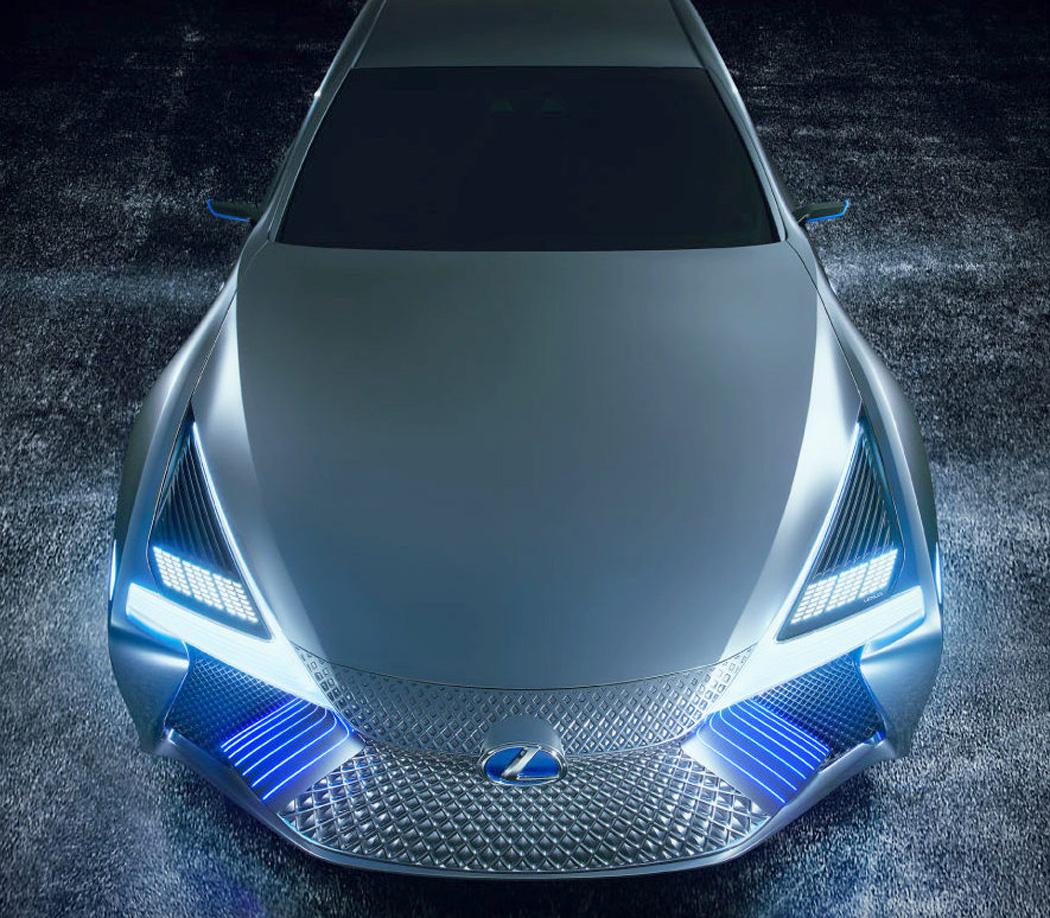 雷克萨斯ls  concept概念车:高颜值 高科技