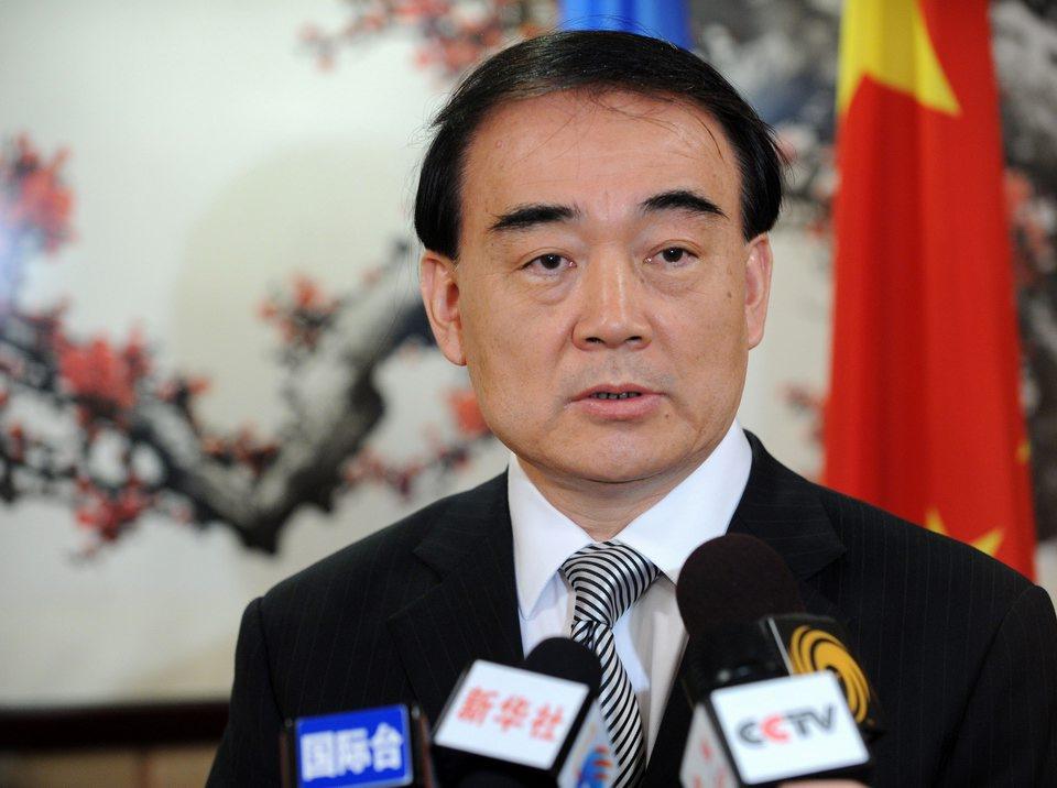 外交部回应台湾地区代表宋楚瑜参加APEC会议(图)
