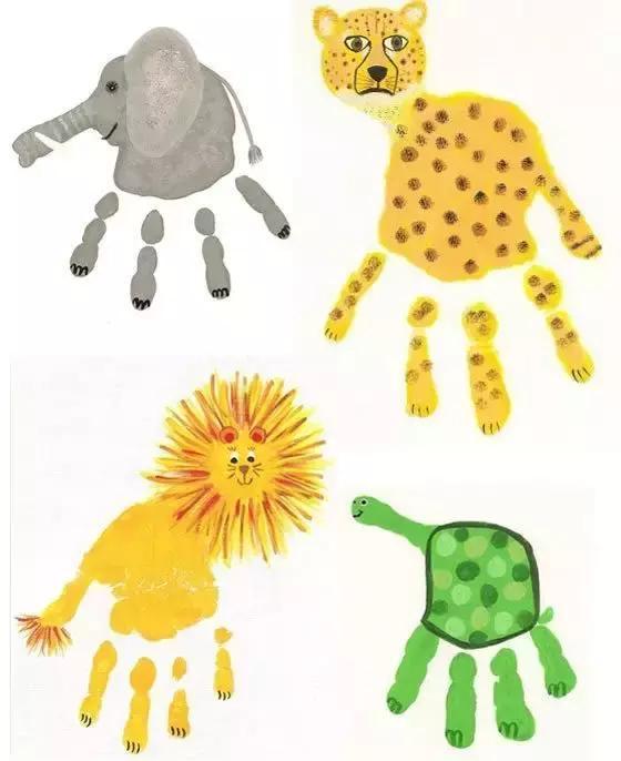 7.动物园里的小动物,大象,豹子,狮子和小乌龟