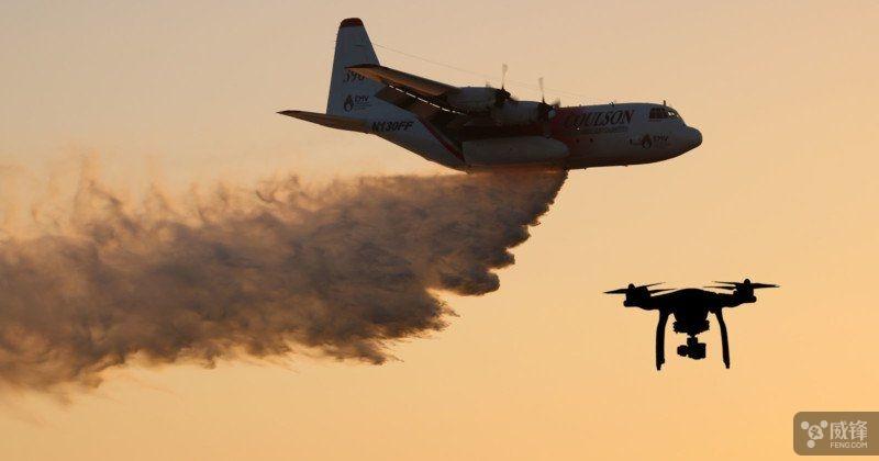 但它仍然存在与喷气式飞机相撞的风险.