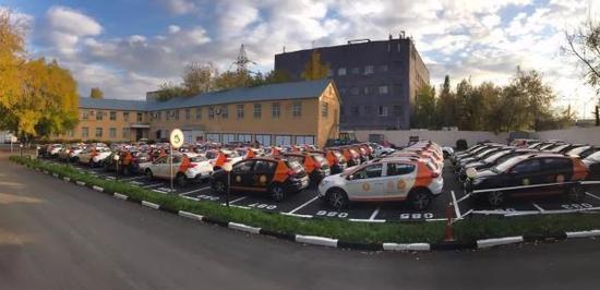 中国共享汽车进军俄罗斯:将在莫斯科投放1000辆