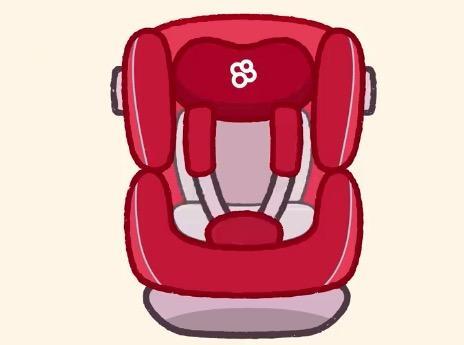 一分钟儿童简笔画 宝宝出行,安全坐椅保驾护航不可少