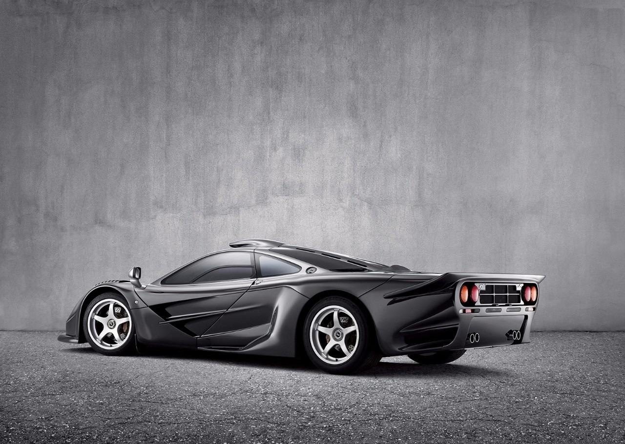 【超级跑车】迈凯伦说要造一部超级跑车!于是有了McLaren F1