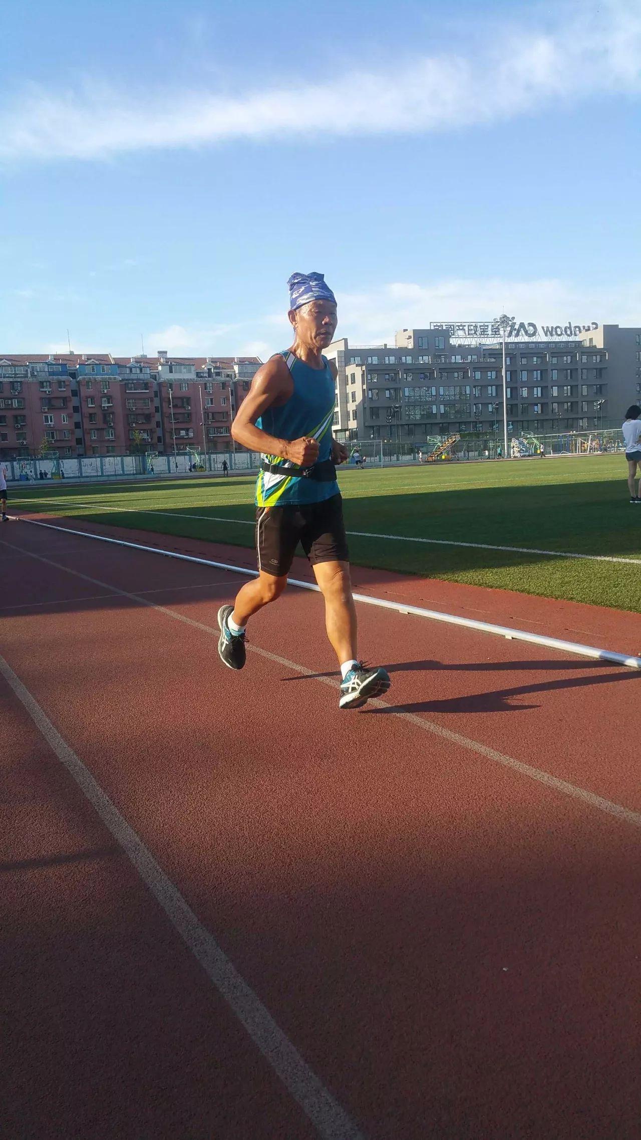 74岁孙国章:坚持跑步半个世纪,他是真正的跑者