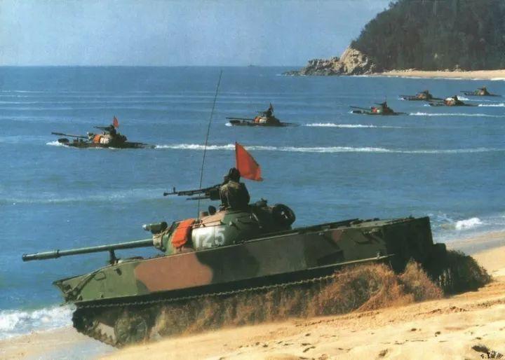 坦克--中国水陆坦克发展史:05系列争光 综合技术世界第一