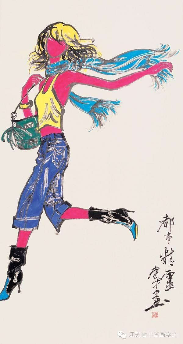 画家张广才:传统中国画中让人看到直面当代生活时所焕发的开放性