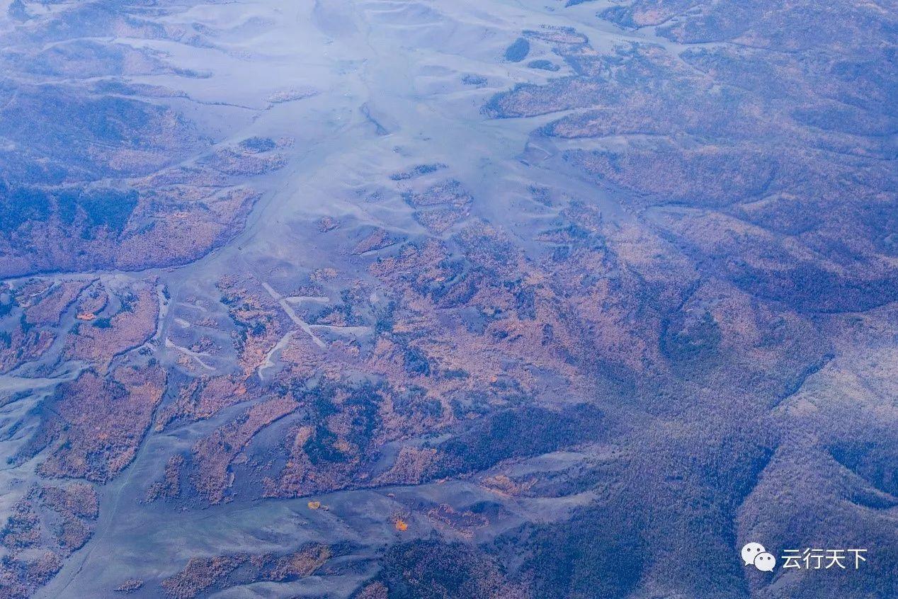 窗外的北欧图片系列——万米高空的视觉盛宴