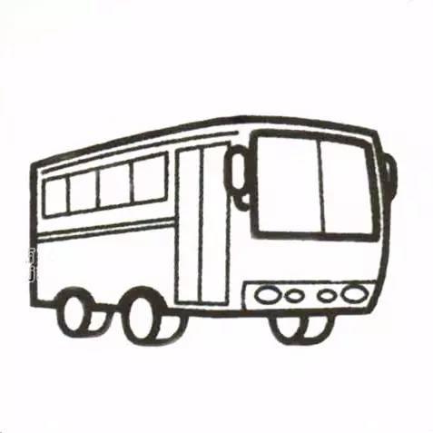 各种交通工具简笔画大全《天天简笔画分享》