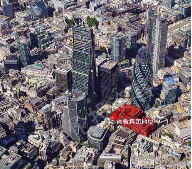 港资大佬欲连拆三栋大楼 原址新建超高摩天楼 重塑伦敦天际线
