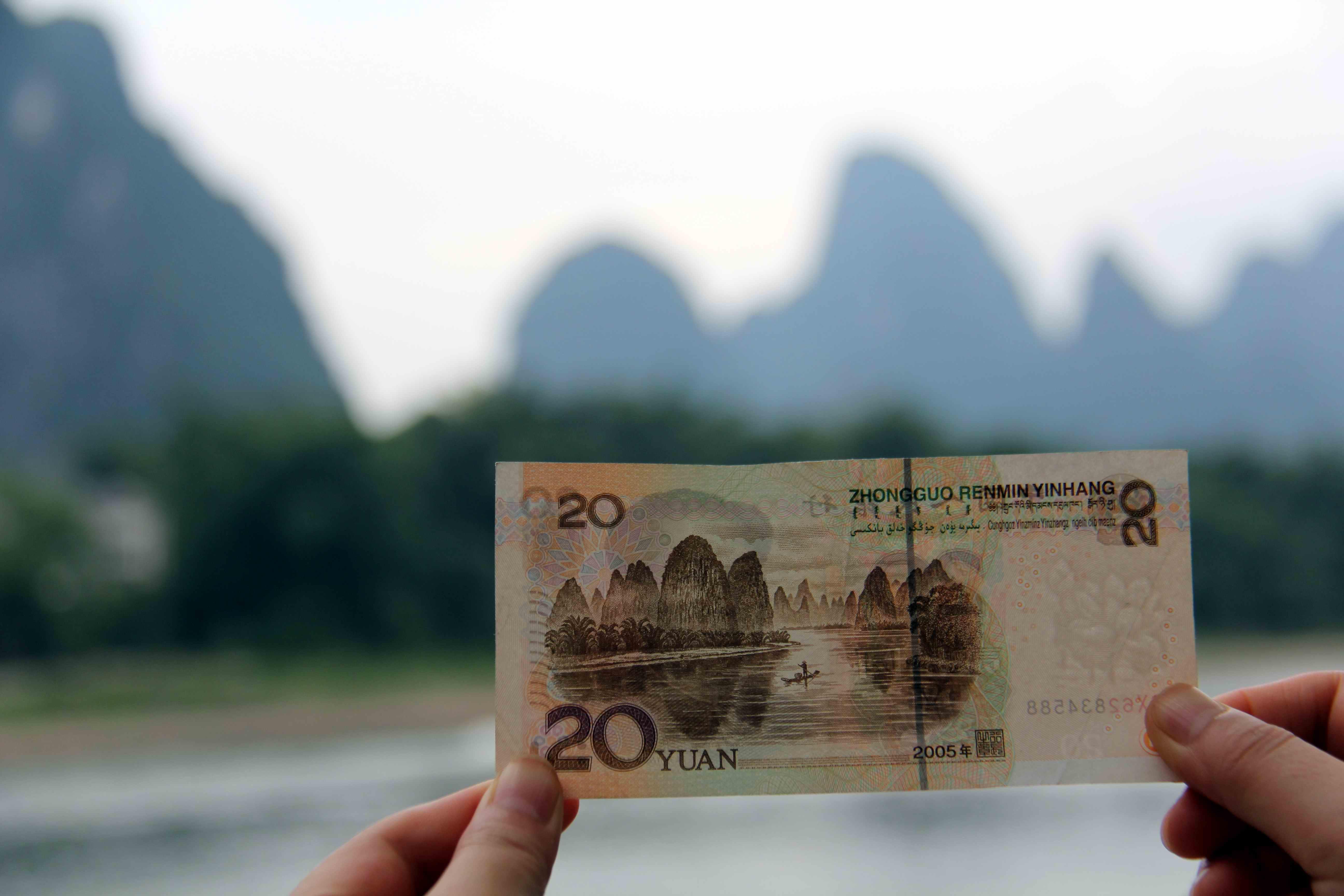这一张钞票上的风光美景地,你去过吗?