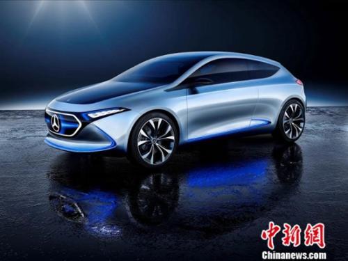 梅赛德斯-奔驰EQA概念车将于广州车展迎来中国首秀