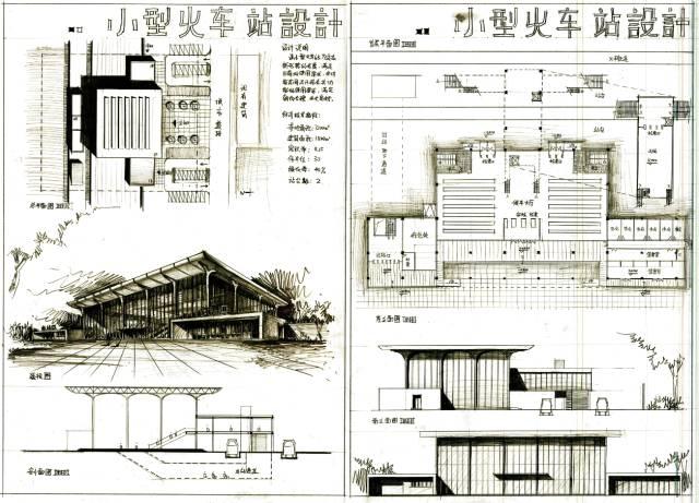 建筑快题设计优秀案例(一)