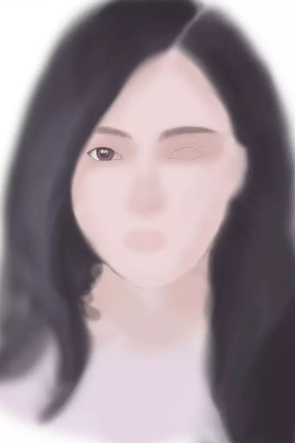 ps手绘教程 | 手绘教程 临摹漂亮的女神头像