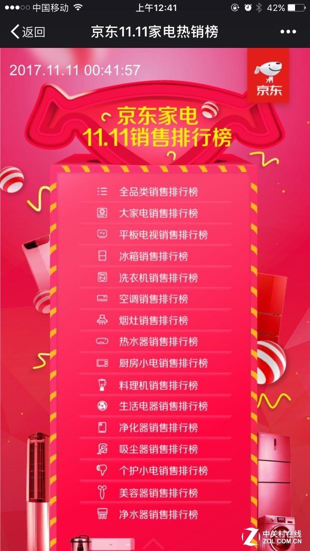 定义中国家电网购,京东家电11.11再创新纪录