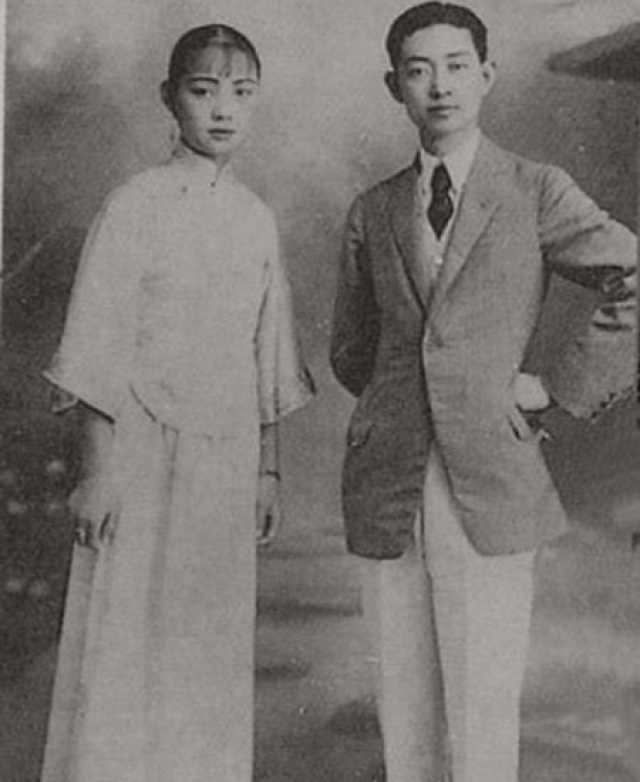 刘喜奎与梅兰芳