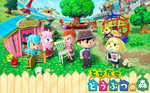 任天堂公布手游《动物之森:口袋露营》将登陆谷歌商店