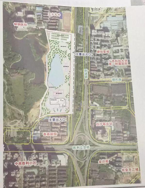 柳北新区最新规划图
