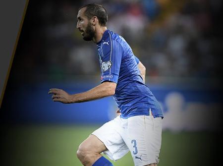 基耶利尼:瑞典配得上晋级 希望球迷们继续支持意大利