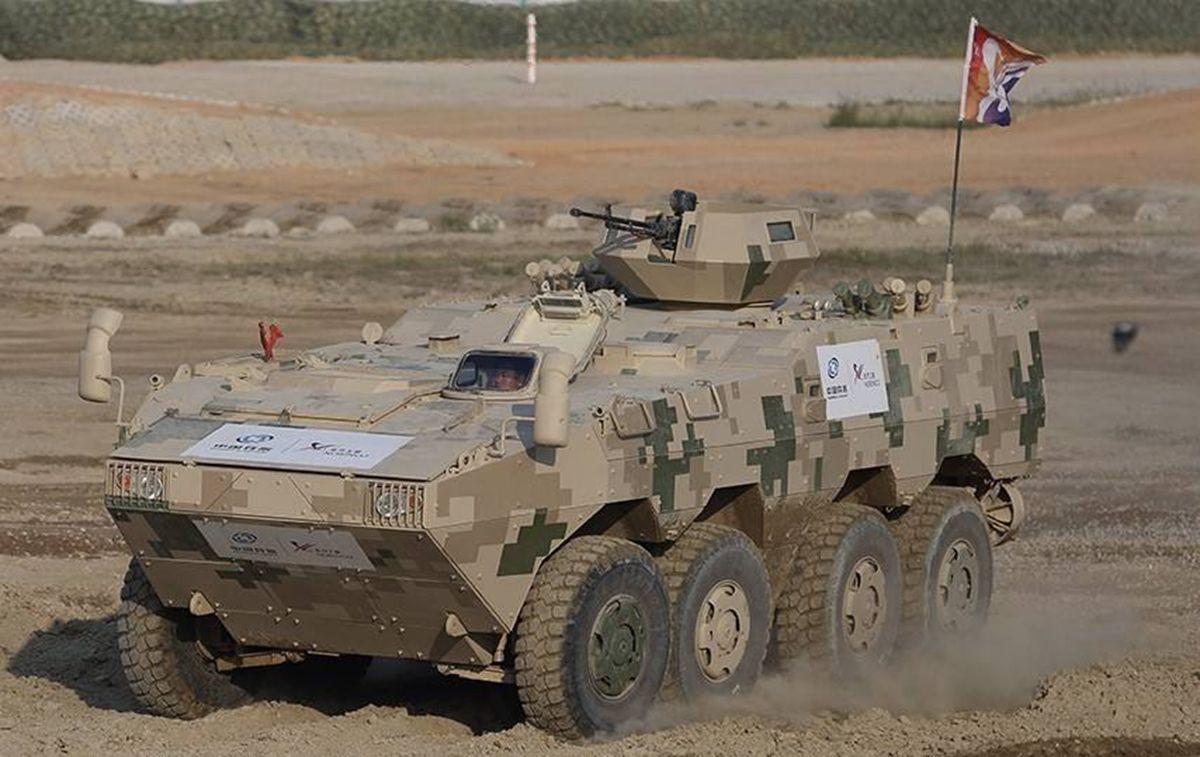 泰国人只买对的不买贵的?中国VN1轮式装甲车将陆续交付