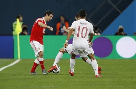 友谊赛:拉莫斯点射梅开二度,西班牙客场3