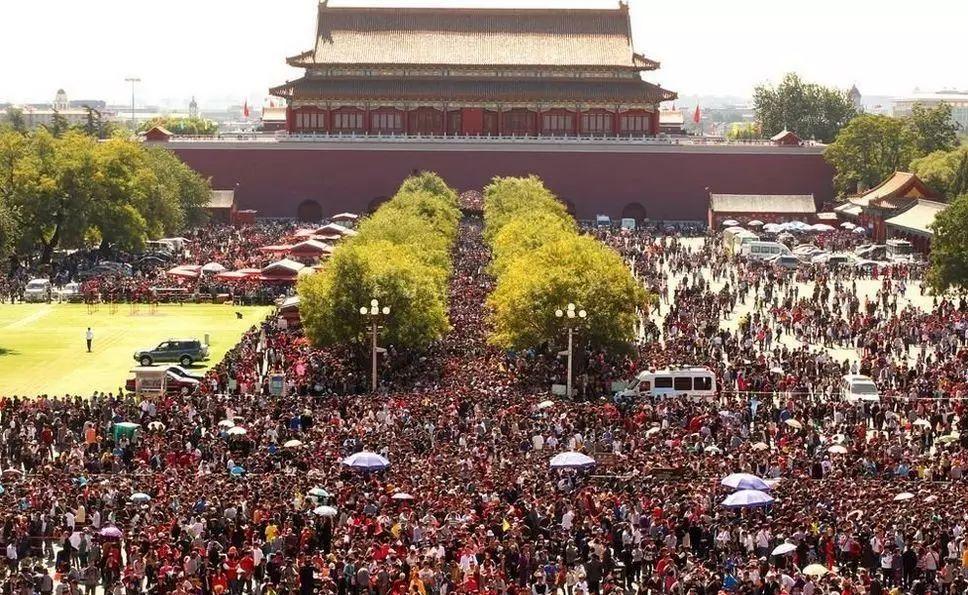 故宫计划每天接待8万人,第一天就失败了!(图)