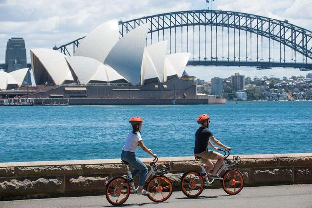 让更多人享受绿色智能出行 摩拜进入悉尼引骑行热潮