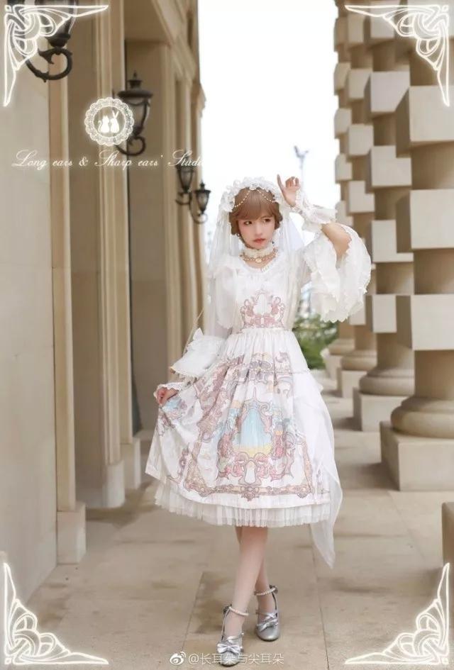 lolita在中国:一条裙子的诞生图片