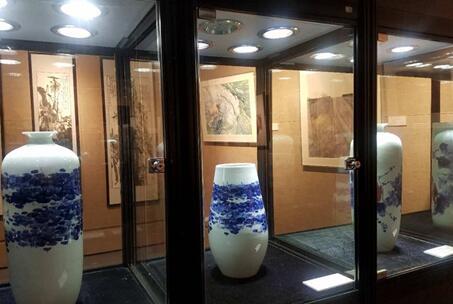 上海立达职业技术学院美术作品公开展 产教融合秀出软实力