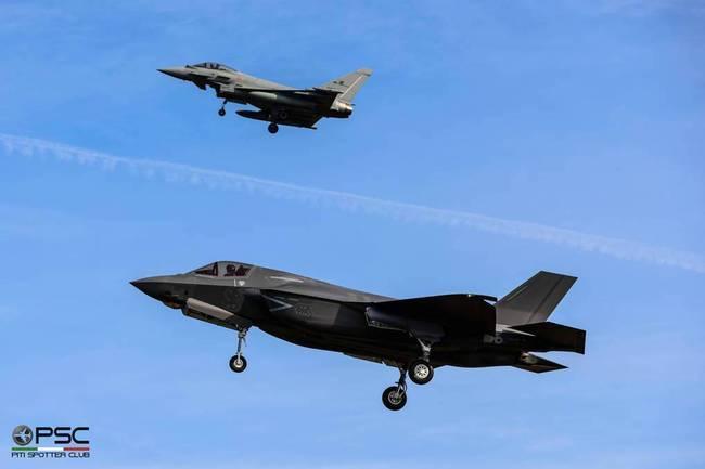 战斗机--意大利航空业与中国渊源极深:曾有F-16拦截中国客机