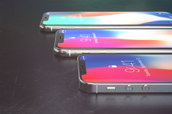 《iPhone X Plus、SE齐换上全面屏:这画面太有爱》