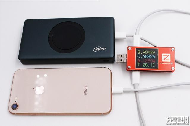 有线无线通吃 华美携手易能微推出首款无线充、PD二合一充电宝